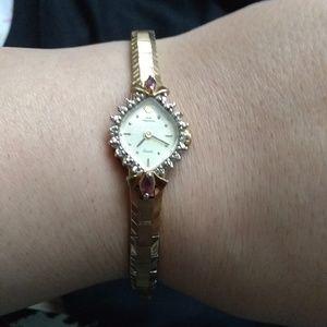 Vintage Jules Jurgensen Diamond Ruby Watch